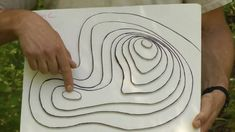 Contour Lines explained on a Topographic Map