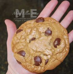One of my favorite chocolate chip cookies. From America's test kitchen