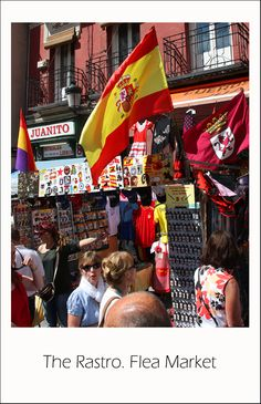 The Rastro. Flea Market Madrid, Spain Copyright: Serghei Pakhomoff