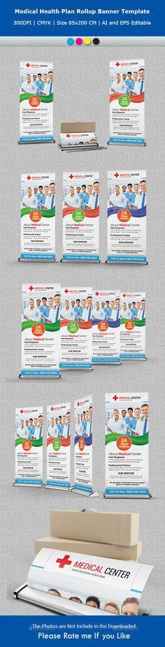 Restaurant Poster Template Vol8 Poster Design Template - health plan template