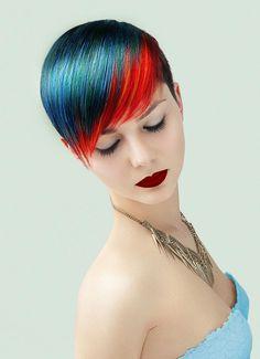 www.esteticamagazine.com   Credits Hair: Ismail Ersan @Calista Coiffure Styling: Metro Boutique Makeup: Schastlivaya Anna & Karina Golovina Photo: Ismail Ersan & Yan McLine