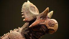 Yehuecauhceratops Museum Replica