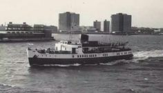 Sealink ferry 1973 Portsmouth Harbour