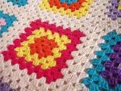 Espacio Crochet: Manta de ganchillo