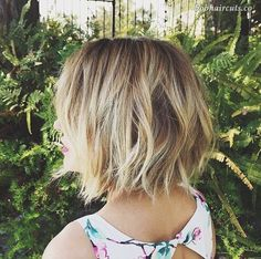 21 Choppy Bob Hairstyles – Latest Most Popular Hairstyles for Women - 13 #ChoppyBob