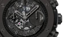 Luxe handelsgids > Hublot Big Bang Unico All Black Patek Philippe, Breitling, Cartier, Omega, Rolex, Casio Watch, Bigbang, All Black, Watches
