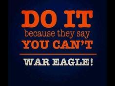 That's the way we roll! Football War, Auburn Football, College Football, Football Sayings, Auburn Alabama, Football Season, Auburn University, Auburn Tigers, Auburn Vs