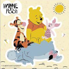 Winnie the Pooh Wall Calendar 2017