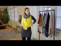 HOW-TO   Schalvariante - YouTube Youtube, Fashion, Moda, Fashion Styles, Fashion Illustrations, Youtubers, Youtube Movies
