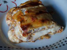 Lasagne al forno, o anche pasticcio con ragù alla bolognese e besciamella, chiamatelo come vi pare, in ogni caso una goduria inimitabile.