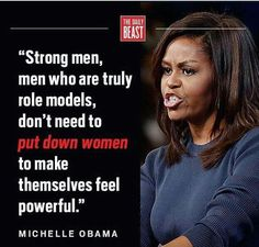 Probably one of the most famous First Ladies, and probably one of the best role models. Bravo Michelle Obama, you are one of my favorite people who I will probably never meet.