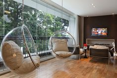 Home Design Decalz Room Swing, Bubble Chair, Hanging Hammock Chair, Apartment Design, Living Room Chairs, House Rooms, Chair Design, Home Interior Design, House Design