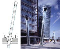 Light Pipe at Potsdamer Platz, Berlin (2000)