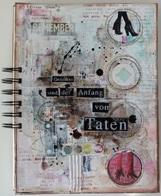 Scrapmanufaktur: Notizbuch - notebook