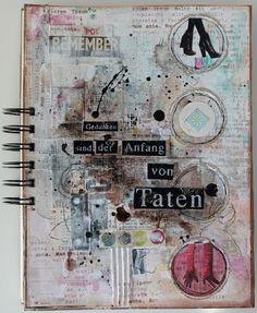 Scrapmanufaktur: Notizbuch - notebook