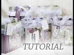 Gift Bag Tutorial. J&S Hobbies and Crafts DT project Using Tranquil Gardens Paper. - YouTube