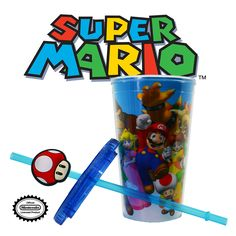 Out of all video game characters, Mario is by far the easiest to recognise. But if you're finding it difficult to decide which character you want to see when you're sipping your favourite beverage, then this carnival cup is the perfect solution! This awesome cup features an assortment of Mario characters, including Mario, Donkey Kong, Bowser, Toad and many more. The straw of this cup also features a detachable Super Mushroom. If you loved playing as some of these notable characters in the…