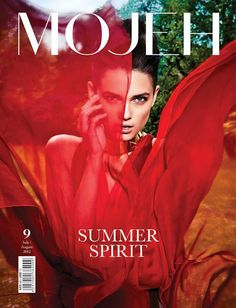 Über-Curti: Tayane Leão na capa da Mojeh magazine