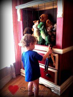 Repurposed Dresser/ Barn Toy box
