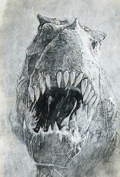 Savage's T-Rex by Bill Sienkiewicz *