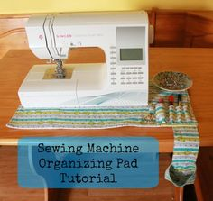 """Amy from Friends Stitched Together will show you how to make your own! The pocket sizes are customizable and the thread catcher is detachable which means it's easy to pull off and empty when it's full. You will need: 1/2 yard cotton fabric 1 13″x25″ piece of non-skid """"grip stop"""" fabric 1 13″x25″ piece of fleece or batting 2.5″ piece of velcro All seam allowances ..."""