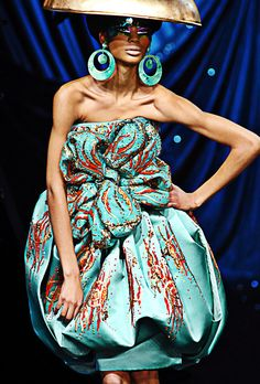 Fuck Yeah Fashion Couture | Christian Dior Haute Couture Spring 2008.