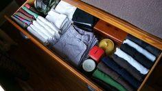Organize dresser drawers