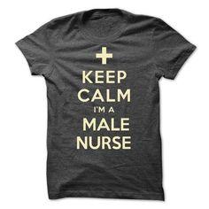 Keep Calm I'm a Male Nurse T Shirts, Hoodies. Check price ==► https://www.sunfrog.com/LifeStyle/Keep-Calm-Im-a-Male-Nurse.html?41382