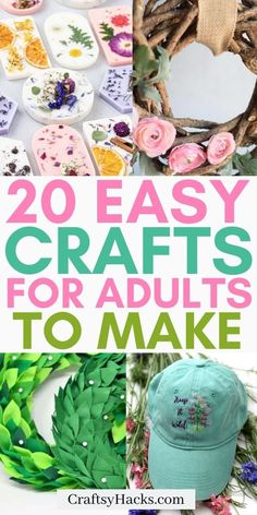 47 Fun Craft Projects for Adults That Aren't Boring