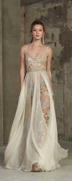 Wedding dress KALINA, color wedding dress, beige wedding dress, bridal dress
