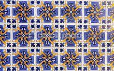 Vintage tegels uit Lissabon, portugal — Stockfoto © kalnenko #1145364