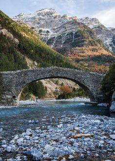 Bujaruelo es un valle despoblado del Pirineo de la provincia de Huesca (ESPAÑA)