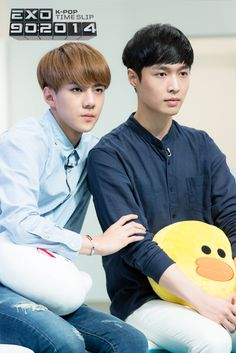 Sehun and Lay - EXO