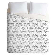 Although this is a Duvet cover, it would be awesome as a crib bedding print or on a big girl bed for later