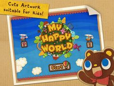 My Happy World : Hidden Object Game for Kids! ($0.00 3 scenes available in the free version)   Help your children to explore and get to know important objects in their surroundings starting from inside the house to the world beyond its fence! Learn English vocabulary in both spelling and pronunciation of every item found and collected in the Sticker Book.  ★ High quality voice recorded by a native American-English speaker helping your children to pronounce correctly.