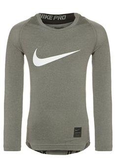 Nike Performance PRO DRY - Hemd - carbon heather/black/white - Zalando.nl