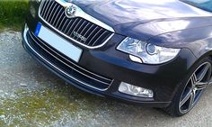 org. Skoda Superb Dynamic package front Spoiler part number FAA800003