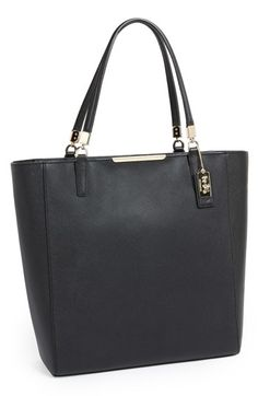 COACH 'Madison' Saffiano Leather Tote