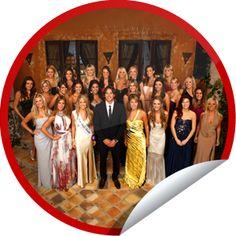 This is the Bachelor Season 16 Fan sticker. Yes I am a Bachelor fan. It's my guilty pleasure.