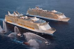 Allure & Oasis of the Seas - largest cruise ships in the world- LLL