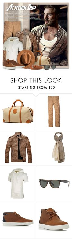 """""""Road Trip Ready"""" by petri5 ❤ liked on Polyvore featuring Ghurka, Toad&Co, Sylvia Alexander, Ray-Ban, Lacoste, Ralph Lauren, men's fashion and menswear"""