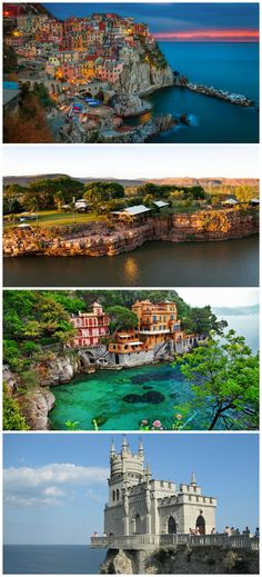 There's a great contrast between the natural world and the structures humans build to challenge and overcome it. This contrast is easily observed in these homes and villages built on cliffs. Take a tour of these cliff-side homes and villages by viewing the full gallery http://theownerbuildernetwork.co/8vcj Could you live in one of these cliff-side homes?