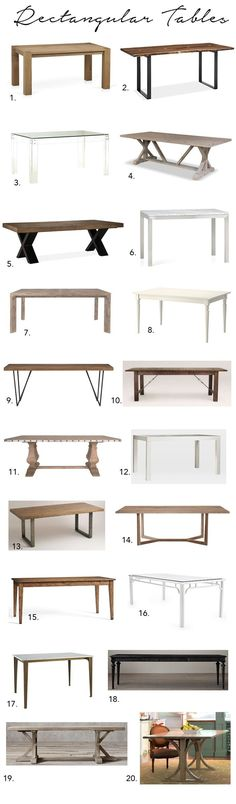 A Huge Dining Table Roundup! - Elements of Style Blog