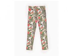 Pantaloni dalla stampa floreale