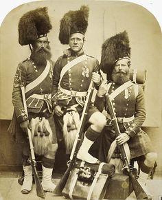 Crimean war soldiers 1857