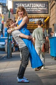"""Andrew Keenan-Bolger, of """"Newsies,"""" boosts up his big sister, Tony-nominated Celia Keenan-Bolger of """"Peter and the Starcatcher."""""""