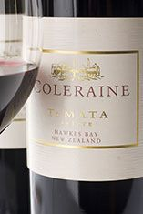 Te Mata Coleraine, New Zealand Bordeaux blend