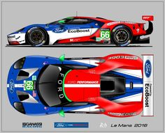FORD GT Le Mans 2016 …