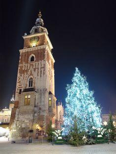 Christmas Tree in Krakow, Poland