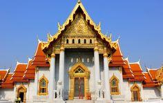 Wat Ben og Ananta Samakhom Throne Hall er et must å oppleve når du er i Bangkok. Bli med vår norsktalende lokalgude og se på disse mesterverkene i Thailand.